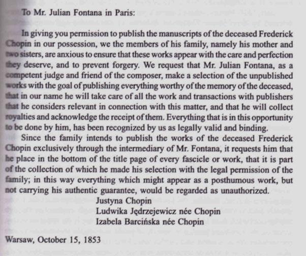 Julian Fontana Biography